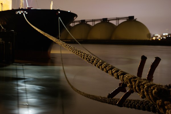 Rope-and-boat