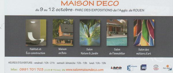 Salon maison deco