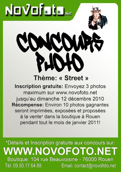 Affiche Concours photo 8 Street