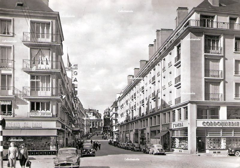 Rouen1955rueGrand-PontCollectionicolas0351