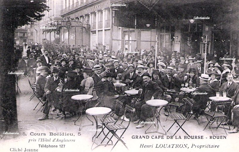 Rouenvers1900Cafédela BourseCollectionicolas0400