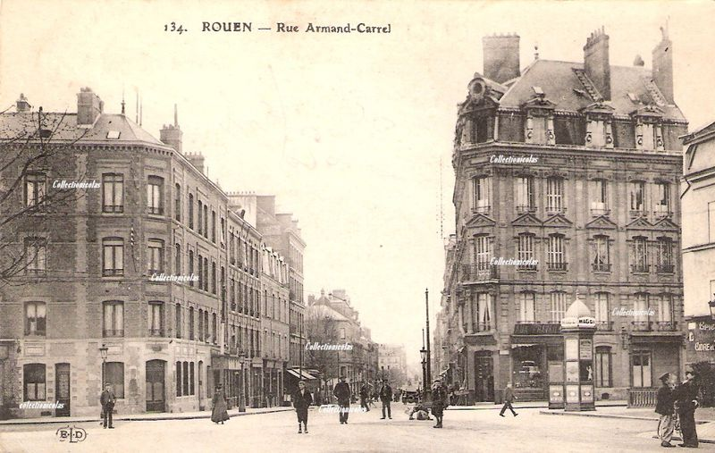 Rouenvers1920rueA-CarrelCollectionicolas0496
