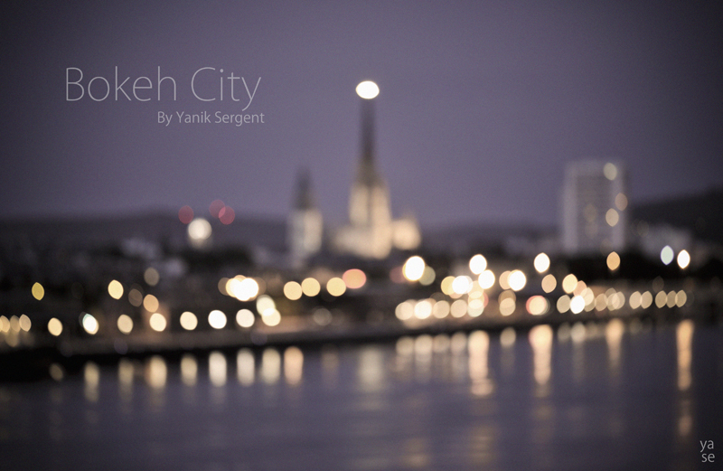 Bokeh city by Ys