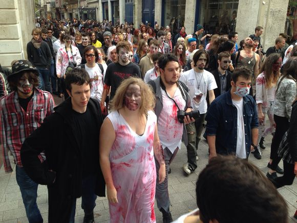 Zombies in Rouen